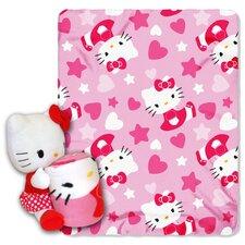 Entertainment Hello Kitty Polyester Fleece Throw
