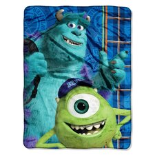 Monster's U Polyester Throw