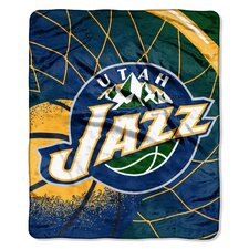 NBA Reflect Plush Throw
