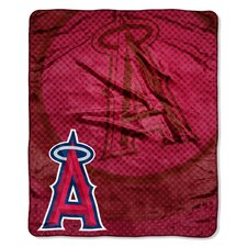 MLB Plush Throw