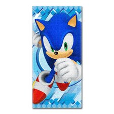 Sonic the Hedgehog Beach Towel