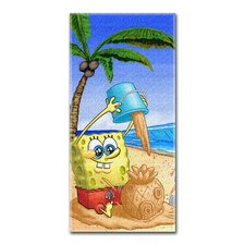 <strong>Northwest Co.</strong> Spongebob Squarepants Beach Towel