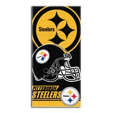 NFL Pittsburgh Steelers Double Beach Towel
