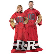 NCAA Rutgers Fleece Comfy Throw