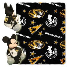 NCAA Mickey Mouse Fleece Throw