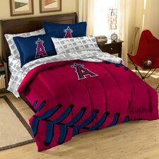 MLB Embroirdered Full Size Comforter Set