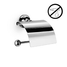 Venessia Self-Adhesive Toilet Paper Holder with Cover