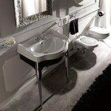 """Retro 28.7"""" Ceramic Bathroom Vanity Set"""
