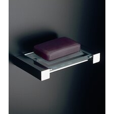 "Complements 6.3"" x 3.9"" Metric Free Standing Soap Dish in Polished Chrome"