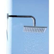 "<strong>WS Bath Collections</strong> Linea 7.9"" x 7.9"" Supioni Bathroom Shower Head"