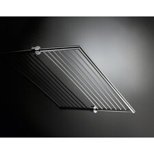 "<strong>WS Bath Collections</strong> Baketo 23.6"" x 10.2"" Towel Rack in Polished Chrome"