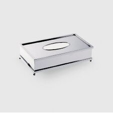 "Complements 10.2"" x 5.5"" Salomonic Tissue Box in Polished Chrome"