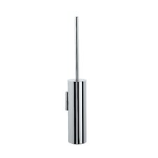 "<strong>WS Bath Collections</strong> Complements 3.2"" x 3.2"" Skoati Wall Mount Toilet Brush Holder in Stainless Steel"