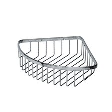 "<strong>WS Bath Collections</strong> Filo 9.8"" x 7.9"" Shower Basket in Polished Chrome"