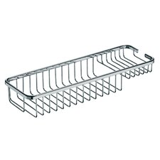 "<strong>WS Bath Collections</strong> Filo 15.7"" x 5.5"" Shower Basket in Polished Chrome"