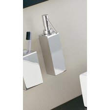 "Metric 8.7"" x 4.7"" Wall Soap Dispenser in Polished Chrome"