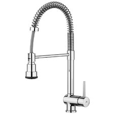 "Stick Kitchen ""Professional"" One Handle Single Hole Bar Faucet with Two-Spray Hand-Shower"