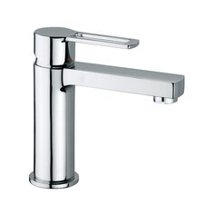 <strong>WS Bath Collections</strong> Ringo Single Hole Bathroom Faucet with Single Lever Handle