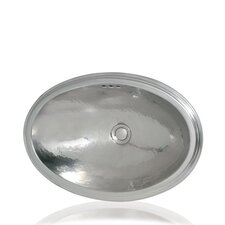 Metal Oval Bathroom Sink