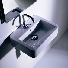 <strong>WS Bath Collections</strong> Kerasan Quadro Wall Mounted / Vessel Bathroom Sink