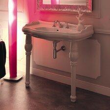 """Kerasan Retro 39"""" Single Console Bathroom Vanity Set"""