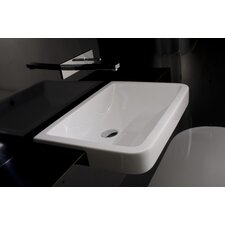 Ceramica Valdama Chiante Wall Mounted / Vessel Bathroom Sink