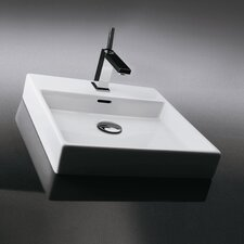 <strong>WS Bath Collections</strong> Ceramica Valdama Plain Wall Mounted / Vessel Bathroom Sink