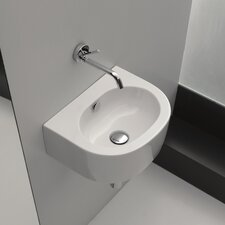 <strong>WS Bath Collections</strong> Kerasan Flo Wall Mounted / Vessel Bathroom Sink