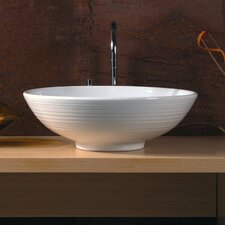 <strong>WS Bath Collections</strong> Ceramica Vessel Sink in White