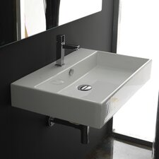 <strong>WS Bath Collections</strong> Ceramica II Unlimited Ceramic Bathroom Sink