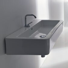 <strong>WS Bath Collections</strong> Kerasan Ego Wall Mounted / Vessel Bathroom Sink