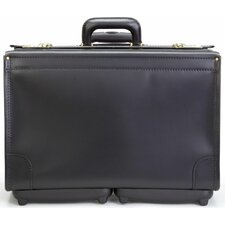 Deluxe Mobile Maximizer Wheeled Catalog Case in Black
