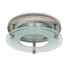 Mini Compact 10.3cm Downlight Trim with Drop Glass