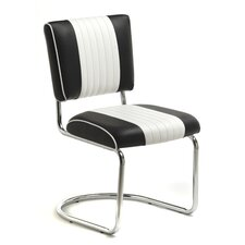<strong>Classic Retro Dinettes</strong> Retro Racer Back Side Chair