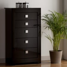 Modena Tall Chest of 5 Drawers