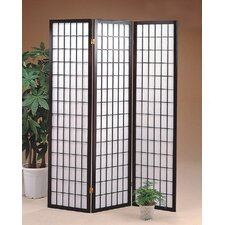 <strong>Wildon Home ®</strong> CS17430337Three Panel Screen Black