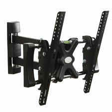 "LEVV Single Stud Steel Solid Articulating Wall Mount for 32""-42"" LCD's"