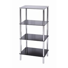 Sierra 4 Tier Square Shelving Unit