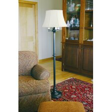 <strong>House of Troy</strong> Newport 4 Light Floor Lamp