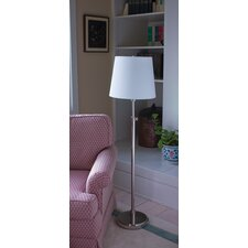 <strong>House of Troy</strong> 1 Light Adjustable Floor Lamp