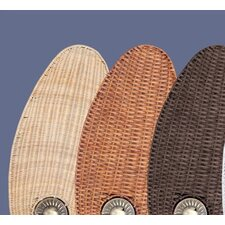 "Maui Bay Wicker 52"" Ceiling Fan Blade (Set of 5)"