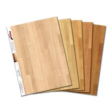 Light MEGA Swatch Hardwood Floor Prints – 5 pk
