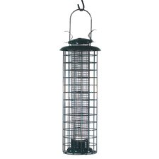 Caged Screen Bird Feeder