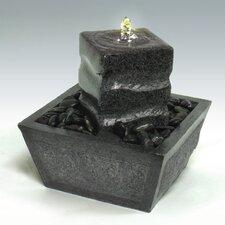 Pillar Stone Tabletop Fountain