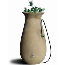 Sandalwood Cascata Rain Water Barrel
