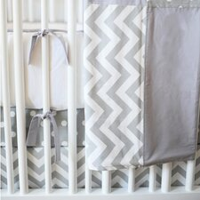 <strong>New Arrivals</strong> Zig Zag Baby 4 Piece Crib Bedding Set