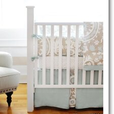 Picket Fence 4 Piece Crib Bedding Set