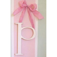 "9"" Hand Painted Hanging Letter - P"