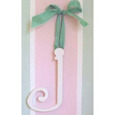 "9"" Hand Painted Hanging Letter - J"