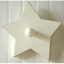 Hand Painted Star Coat Hook